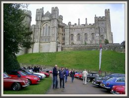 Cars at Arundel Castle